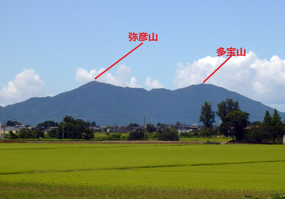 Mt.Yahiko_from_Sakae_PA