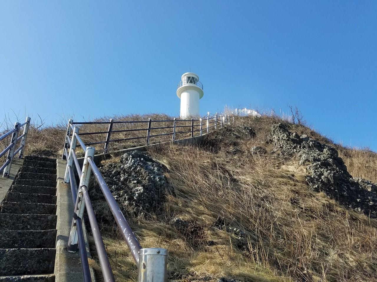 角田山灯台コース